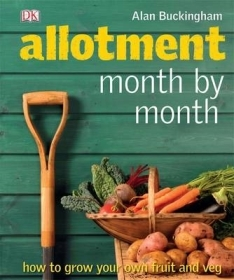 Gardening book, Allotment Month by Month by Allan Buckingham