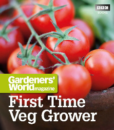 Gardening book, First Time Veg Grower by BBC gardeners world magazine.